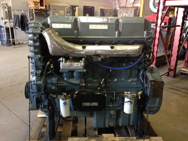 Detroit 60 Series >> Reman Detroit 12 7l Series 60 Industrial Engine