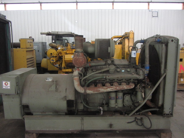 DETROIT DIESEL 12V71TT | 400 KW GENERATOR - ADELMAN'S TRUCK PARTS
