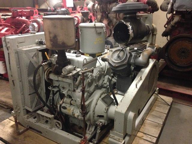 Detroit Diesel 3-53 Reciprocating Air Compressor & Vacuum Pump