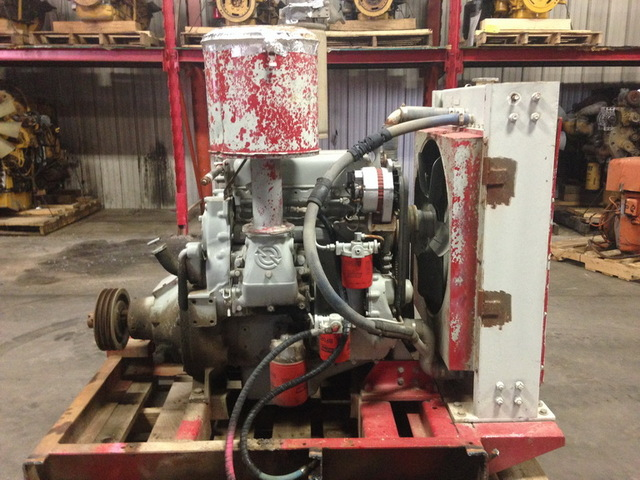 Detroit Diesel 3 53 Power Unit W Hand Clutch