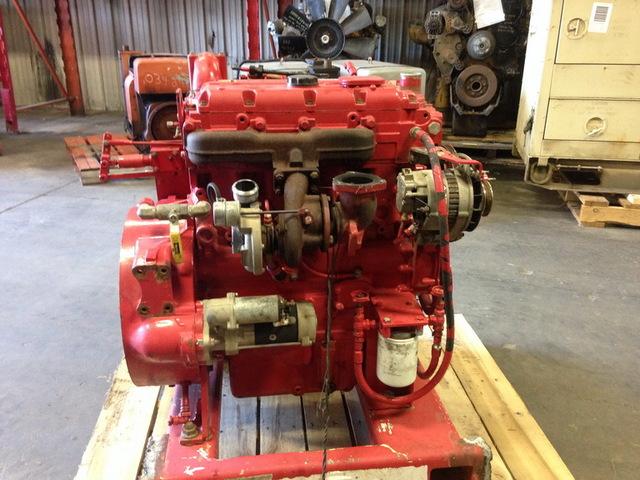Caterpillar 3054C 130hp Turbocharged Engine