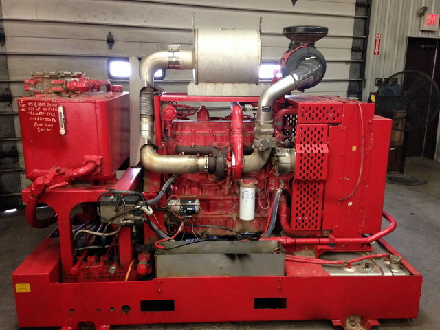 Caterpillar 3126B Hydraulic Power Unit