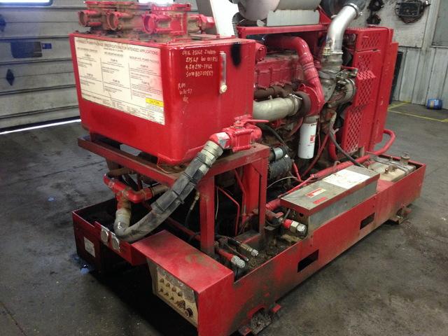 Caterpillar 3126B Hydraulic Power Unit