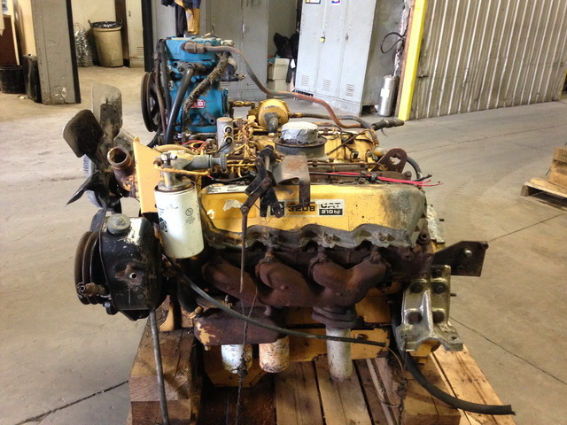 Caterpillar 3208-210hp Diesel Engine