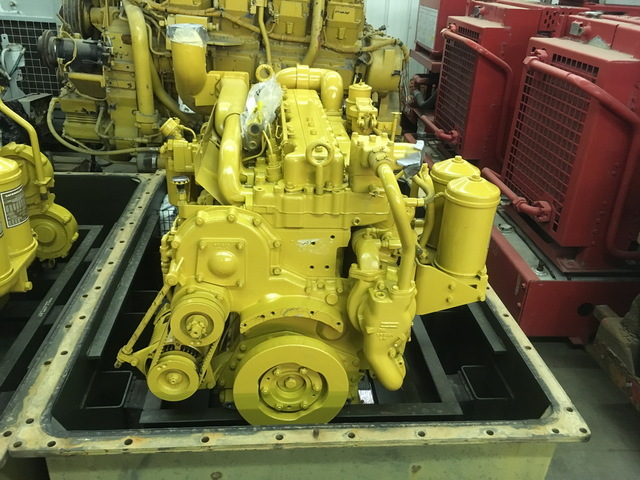Unused Govt Surplus Caterpillar 3306-PC Diesel Engine