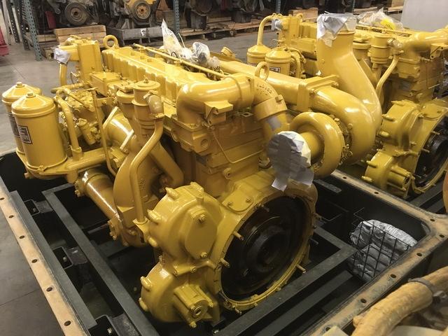Unused Govt Surplus Caterpillar 3306-PC Diesel Engine