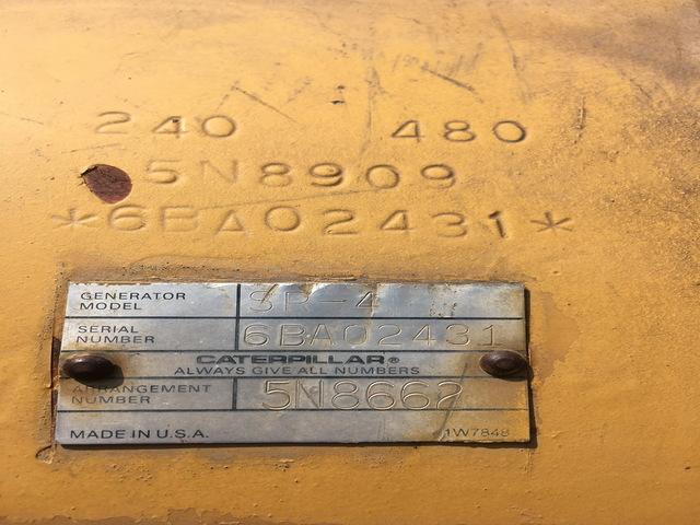 3406B-DITA  300KW GENSET