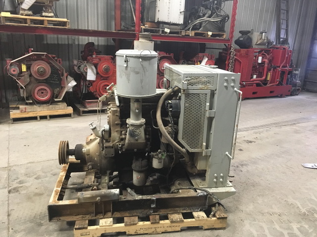 Detroit Diesel 3-53 Power Unit w/Hand Clutch