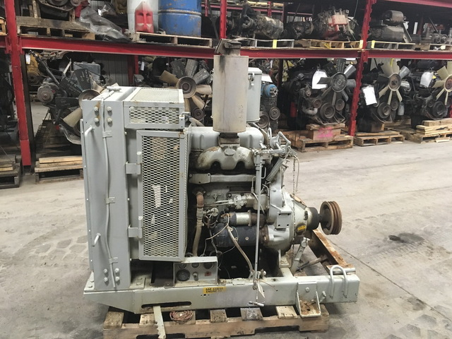 Detroit Diesel 3-53 Power Unit w/Hand Clutch