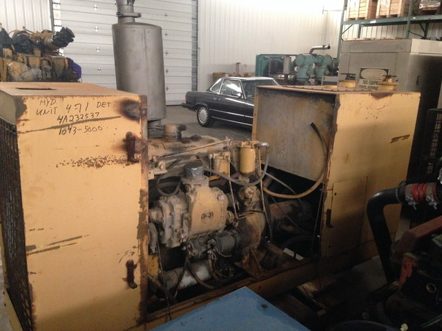 Detroit Diesel 4 71 Hydraulic Power Unit