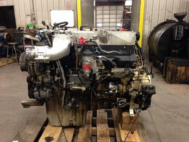 Mercedes om460la mbe4000 diesel engine for Mercedes benz diesel truck engines