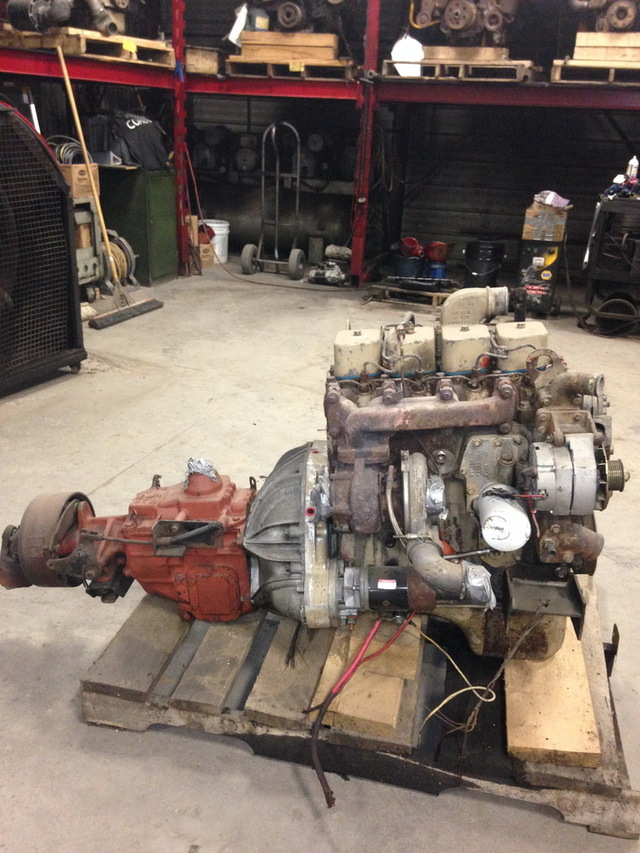 Diesel Trucks For Sale In Ohio >> Cummins 4BT/3.9L Diesel Engine With T19 Transmission