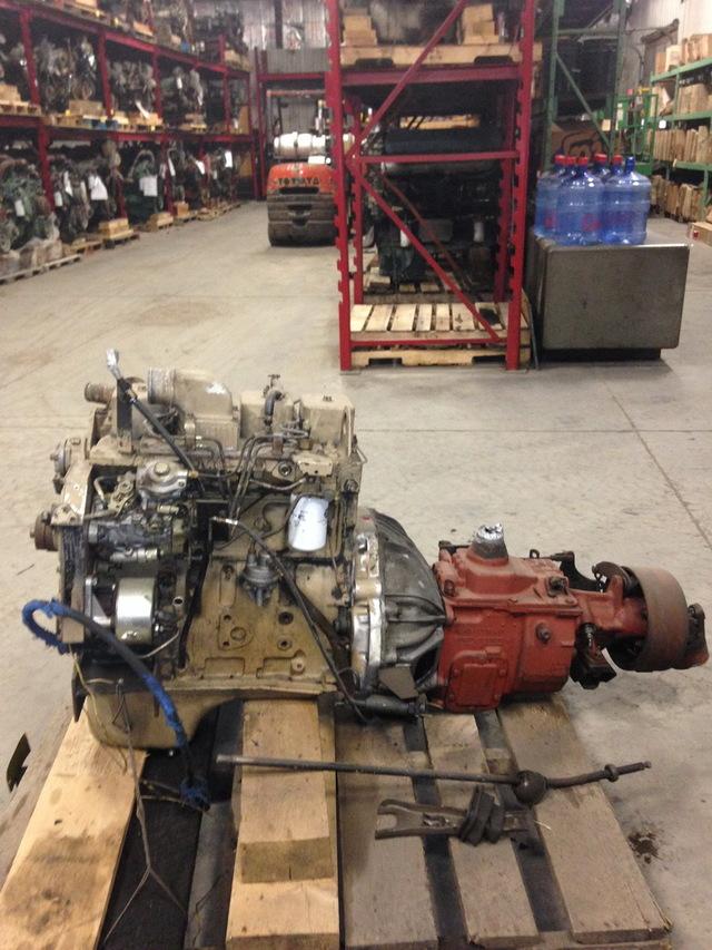 Cummins 4bt 3 9l diesel engine with t19 transmission for Truck motors for sale