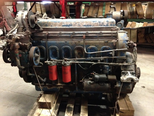 Detroit Diesel 6-71 Engine