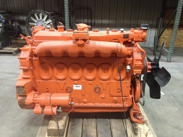 Rebuilt Detroit 6-71 Diesel Engine