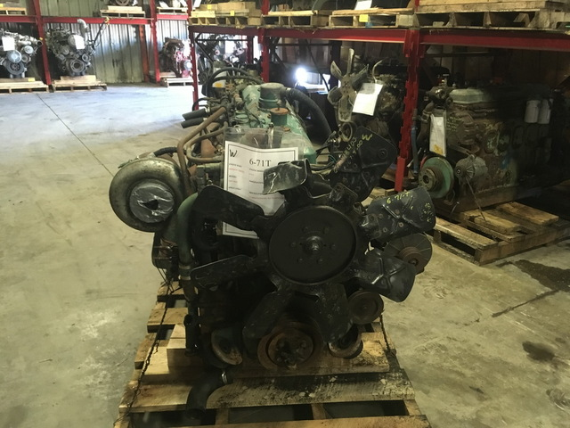 Detroit Diesel 6-71T Turbocharged Engine