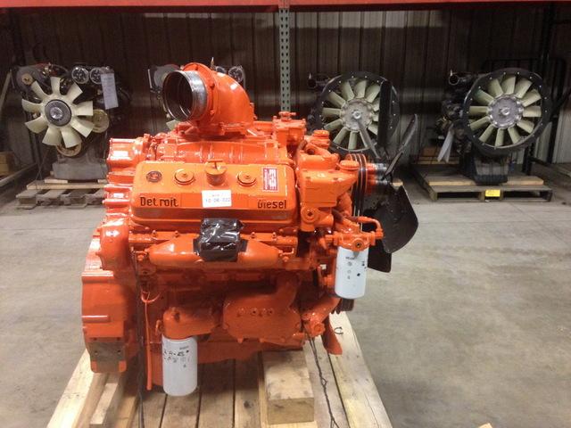 Rebuilt Detroit 6v71 Diesel Engine