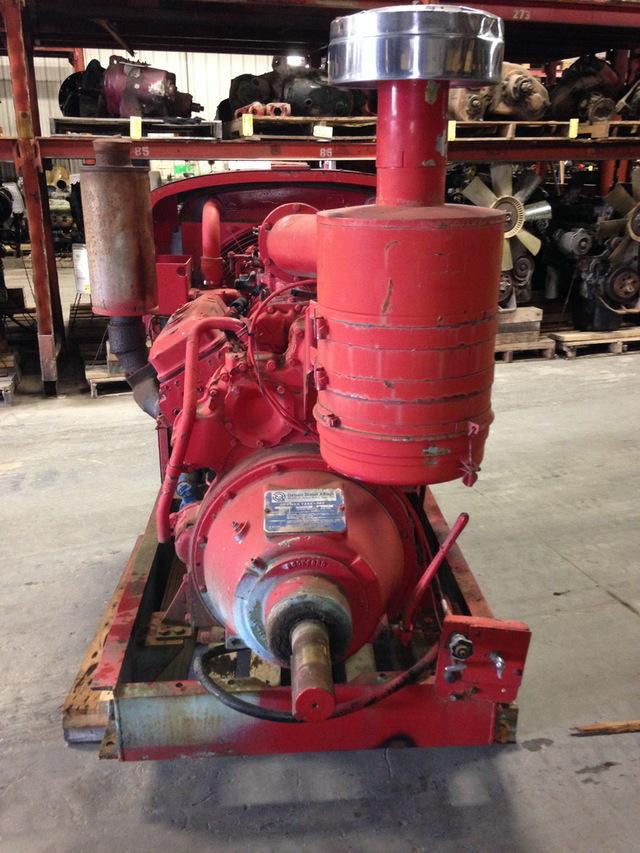 Detroit Diesel 6V71 Power Unit w/Hand Clutch