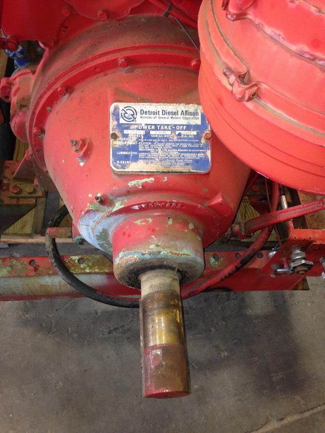 Used Trucks For Sale In Va >> Detroit Diesel 6V71 Power Unit w/Hand Clutch