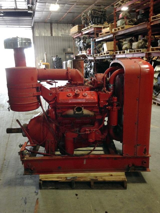 Detroit Diesel 6v71 Power Unit W Hand Clutch
