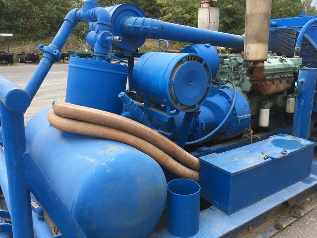 Detroit Diesel 8V92 Oil Field Air Compressor