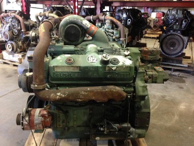 Detroit Diesel 8v92ta Military Engine