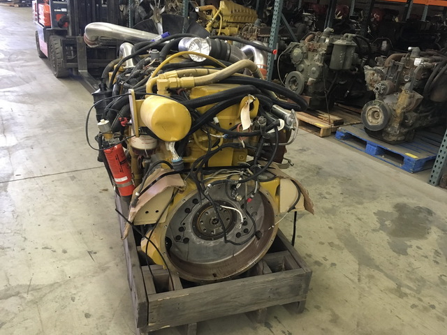 Caterpillar C9 ACERT-450hp Unused Govt Surplus Engine