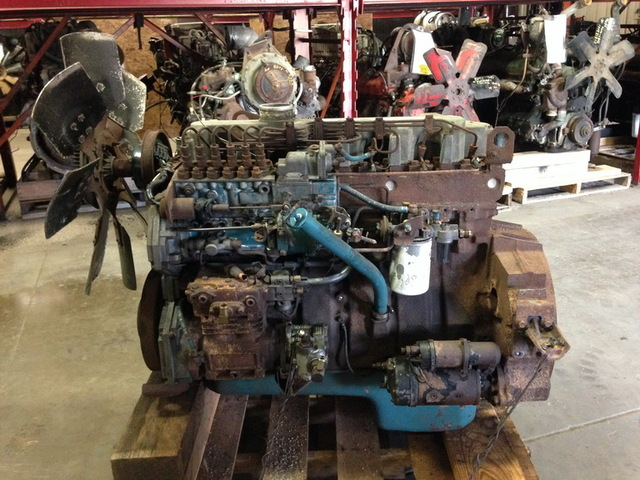 International DT466-250hp NGD Engine