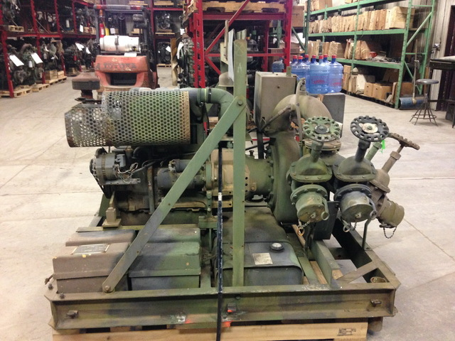 Deutz F3l912 Military Water Pump