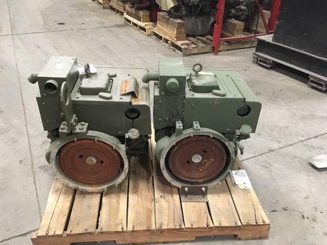 Govt Rebuilt Onan 2 Cylinder Diesel Engines