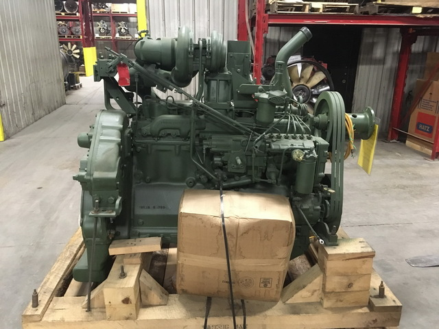 Unused Govt Surplus Caterpillar 3306-DI Diesel Engine