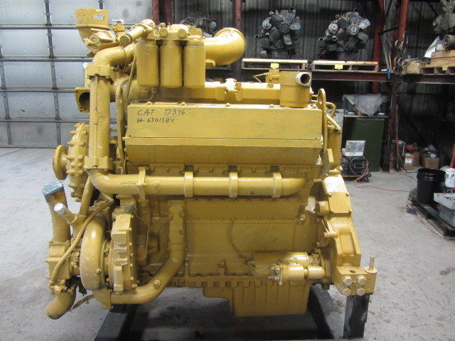 Cat D346 Used Caterpillar V8 Diesel Engine Adelman S