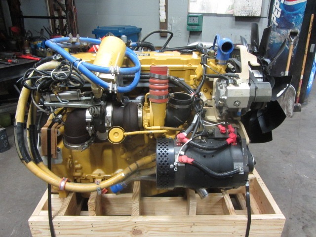 New Caterpillar C9 ACERT-450hp Diesel Engine