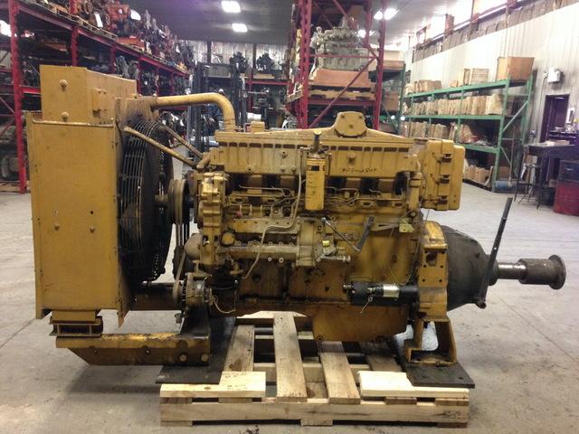 Caterpillar 3406B-DITA Diesel Power Unit w/Hand Clutch