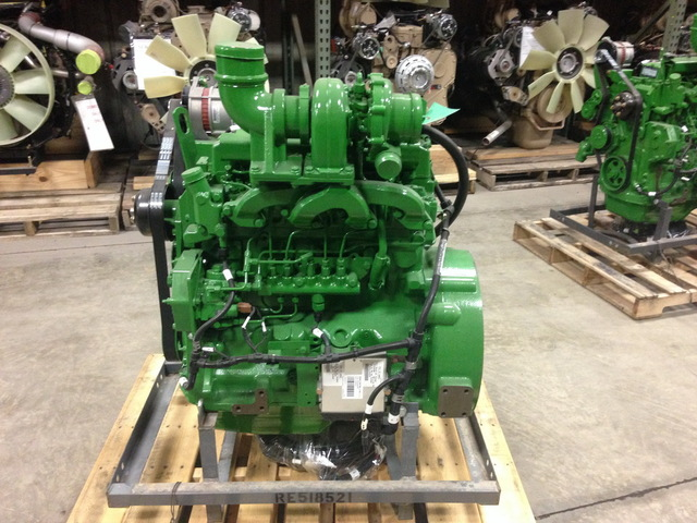 New John Deere 4045L Power Tech Diesel Engine