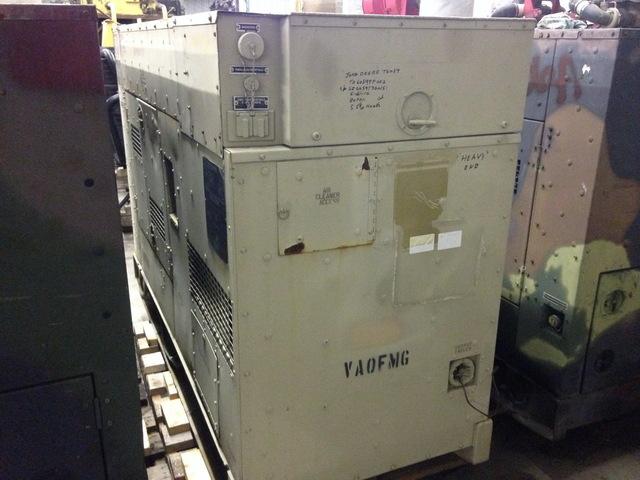 John Deere 60 Generator : John deere t kw diesel generator sold