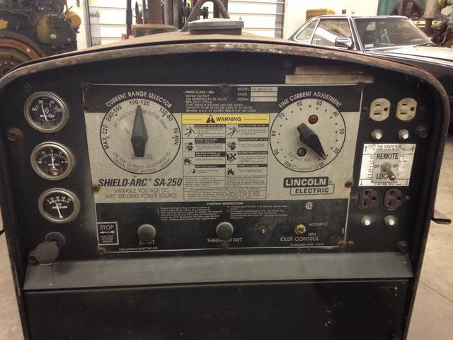 lincoln sa 200 rheostat wiring diagram sa 200 fuel gauge