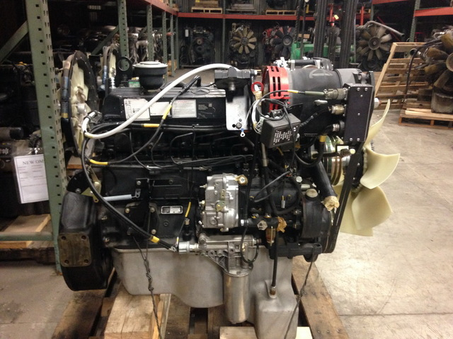 Mercedes OM366 Unused Govt. Surplus Engine