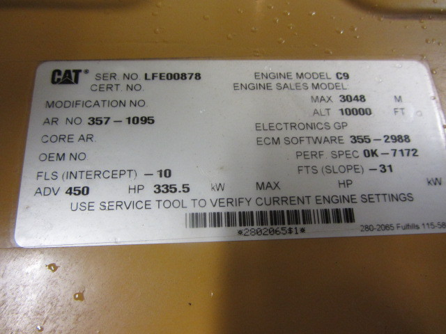 CATERPILLAR C9 ACERT | NEW CAT ENGINE - ADELMAN'S TRUCK PARTS