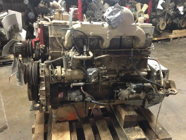 cummins nhc250 small cam diesel engine sold. Black Bedroom Furniture Sets. Home Design Ideas