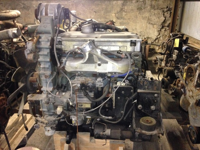 Detroit 8 5L Series 50 DDEC 2 Diesel Engine